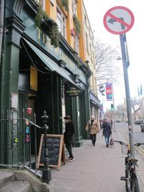 My favorite Dublin bookshop/cafe is still here, though much smaller than it was when I was a student: the Winding Stair.