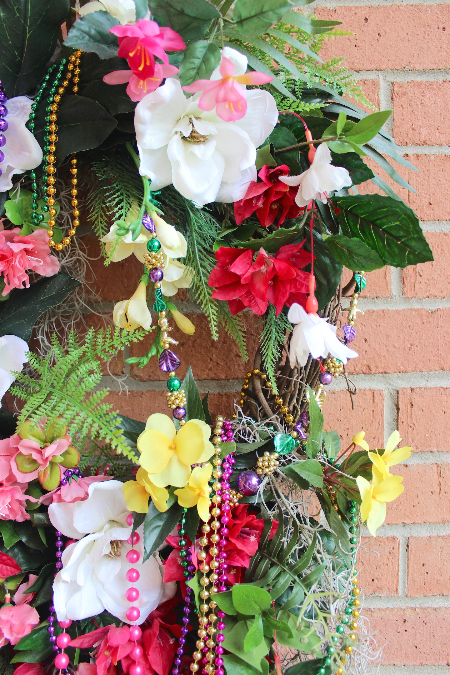 irish girl s wreaths where the difference is in the details