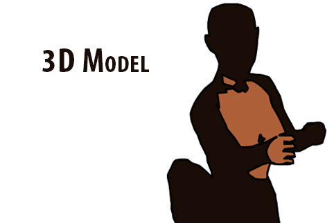 ANIMATION: 3D Female Figure