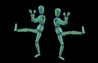 ANIMATION: Dancers