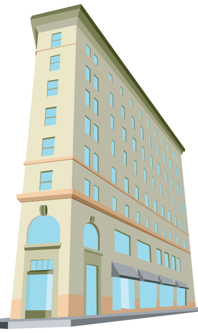 ARTWORK: Asheville Building