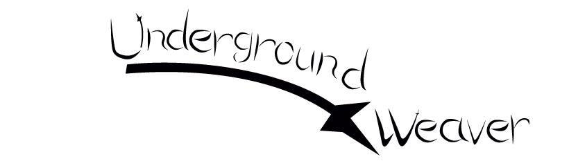 asheville-logo-design-underground-weaver-black-white