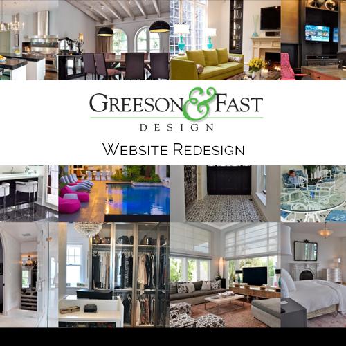 WEBSITE REDESIGN Interior Design