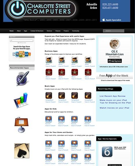 Asheville Website Design and Maintenance