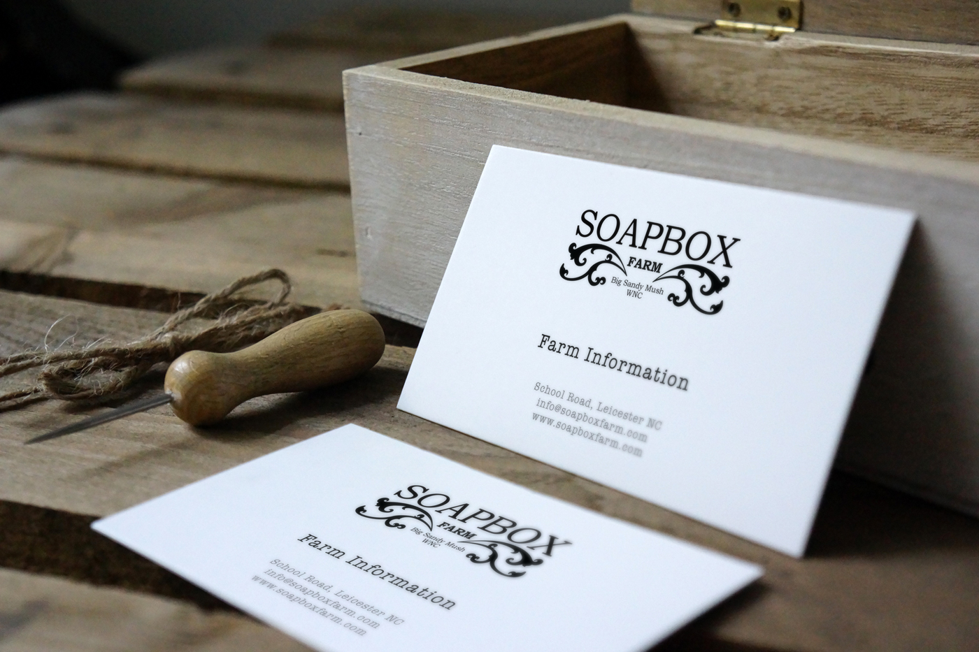 Business Card Design by Irishguy Design Studio Asheville NC