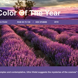 Color of the Year 2018 – Ultra Violet