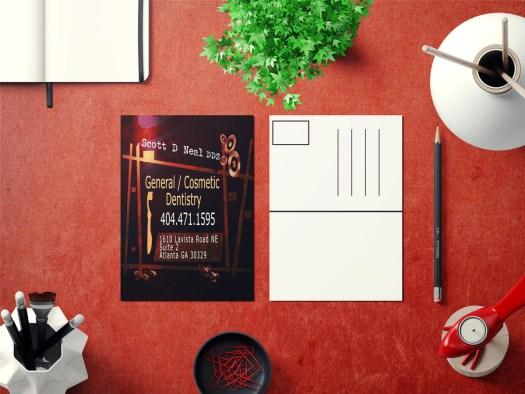 Direct Mail Postcard Design by Asheville IrishGuy Design Studio