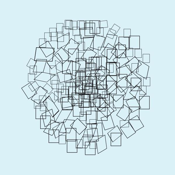 Illustration Square Pattern