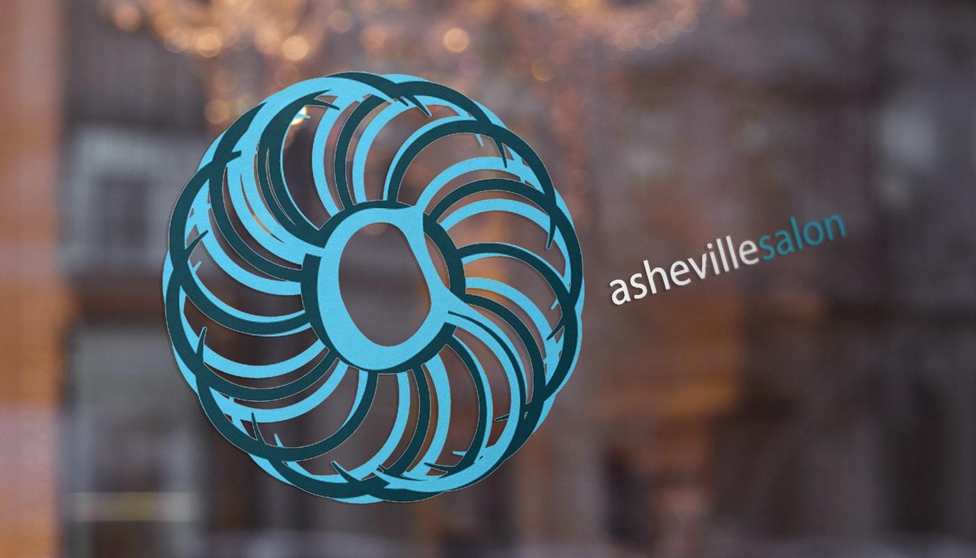 Logo Design Asheville Hair Salon