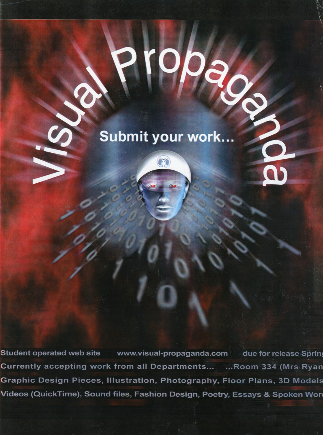 Poster Design by Graphic Designer Gary Crossey