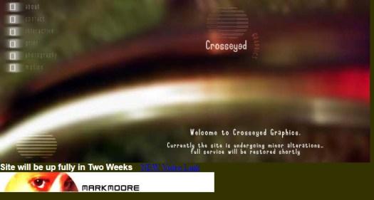 Website Design - Crosseyed Graphics