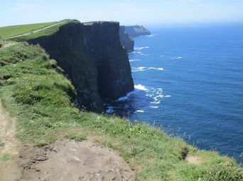 Cliffs of Moher on a perfect day