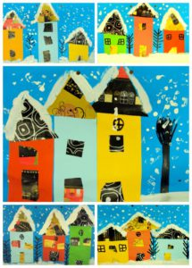 houses-snow