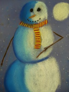 snowmen-at-night