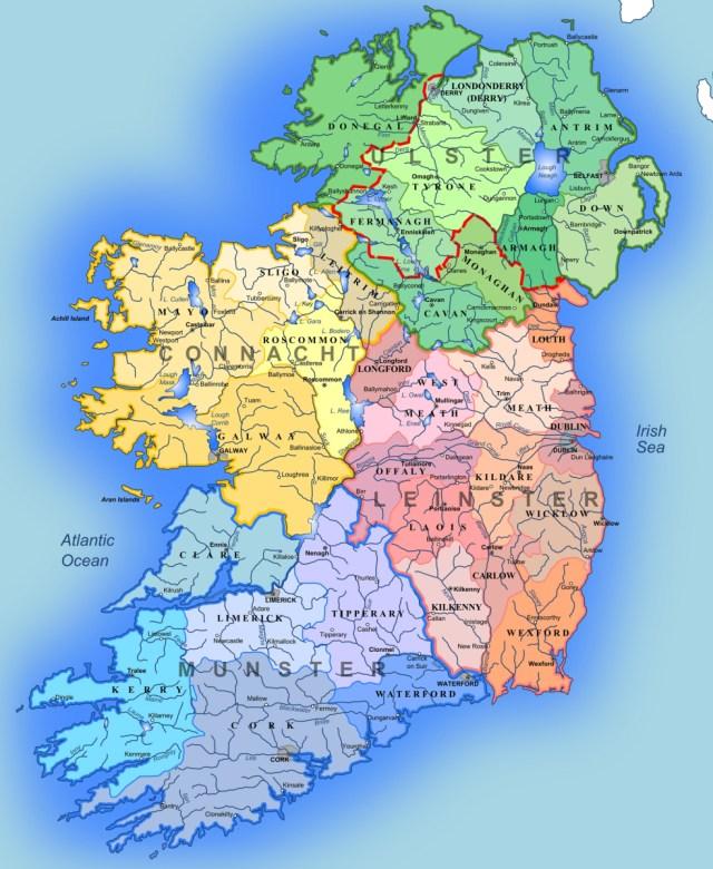 Map Of Ireland Gaeilge.Ireland Irish Primary Teacher