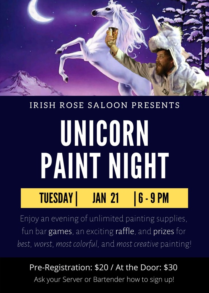 Unicorn & Paint Night