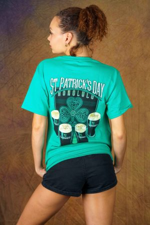 Green Anna O'Brien's St. Patrick's Day Guinness Tee