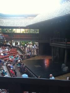 Shakespeare outdoors!