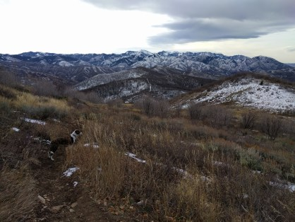 Surveying Killjon Canyon.