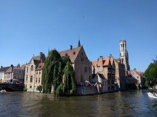 The most photographed spot in Bruges.
