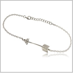 celtic arrow bracelet k4942br
