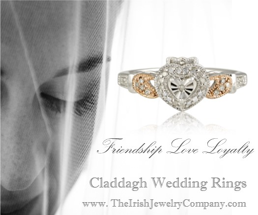 claddagh wedding rings sq