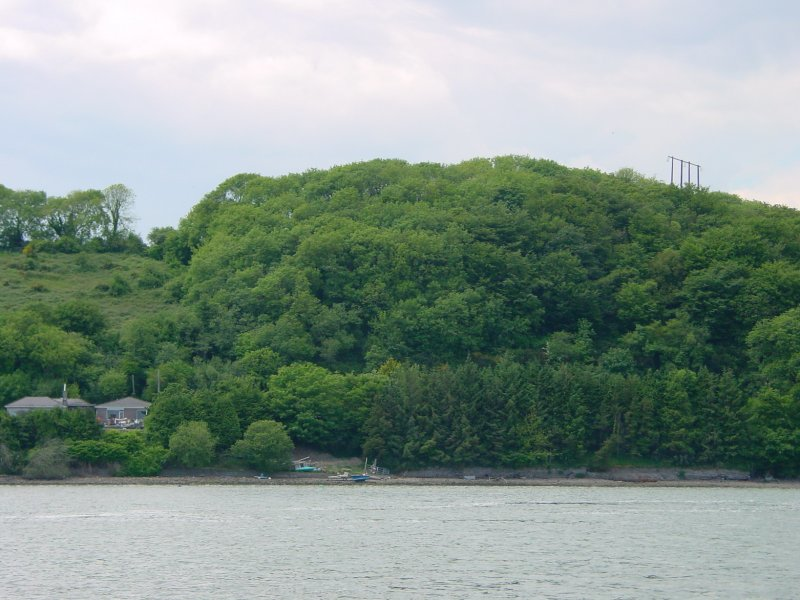 The river meets the bay at Rhincrew, where the Knights Templar had a preceptory