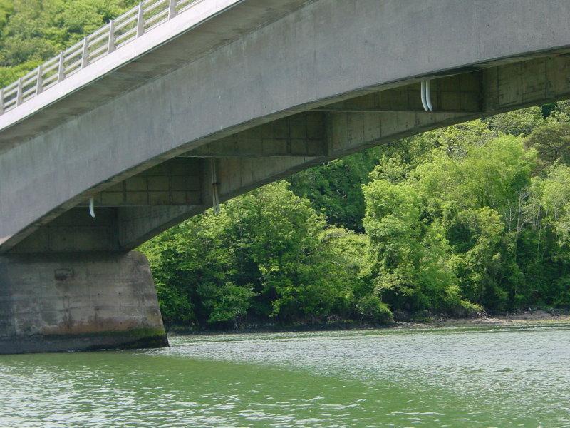 The N25 Cork–Waterford road bridge, built in 1963. The earlier bridge had an opening span