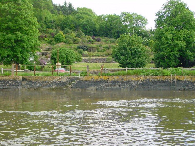 Ballynaclash Quay (I think) on the east side