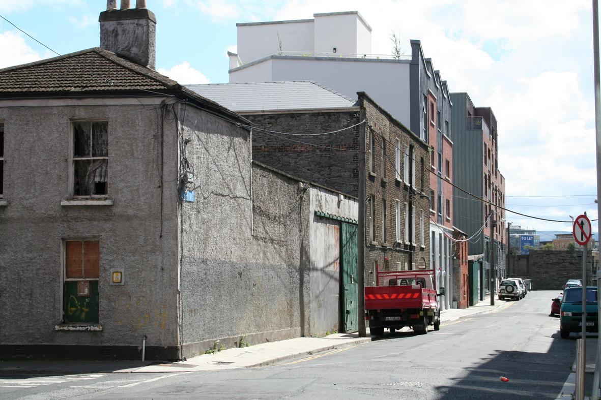 Junction of Newport Street and Pim Street