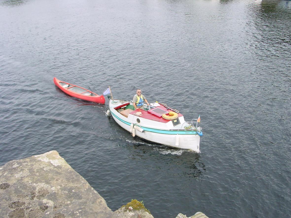 Malagas at Killaloe heading for Limerick