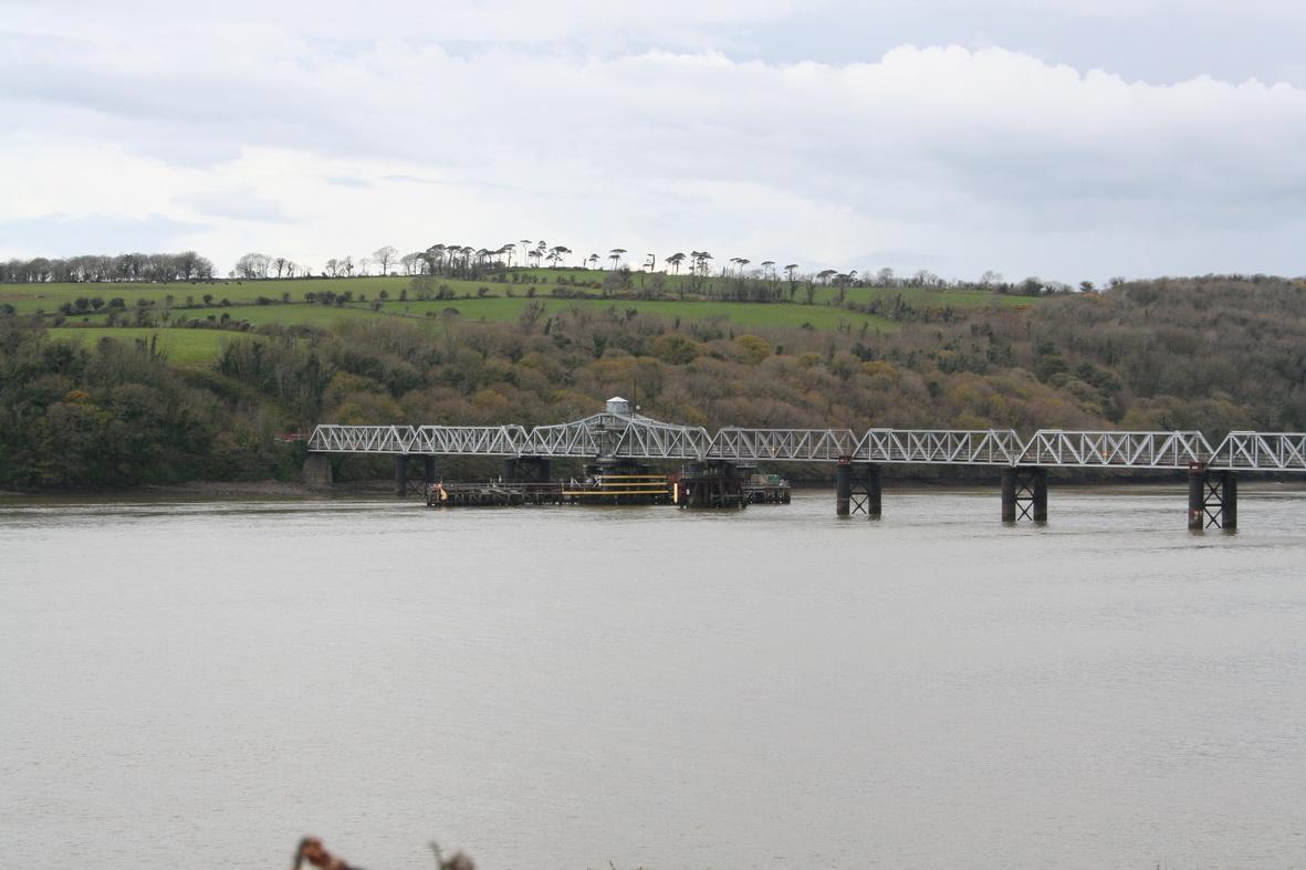 Barrow Bridge from the Great Island power station