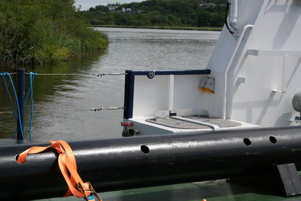 Starboard hatch