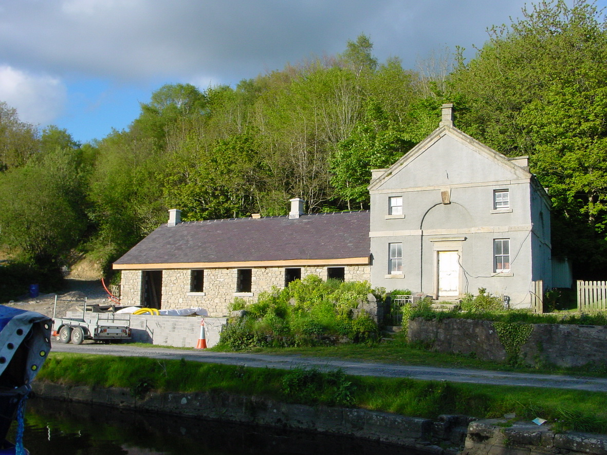 The Omer lockhouse at St Mullins