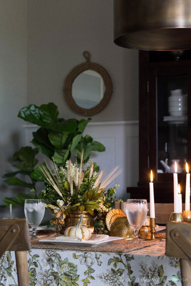 Fall-Dining-Room-Table-Pump