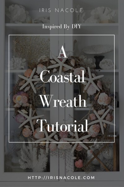 Inspired By DIY: Pottery Barn Coastal Wreath