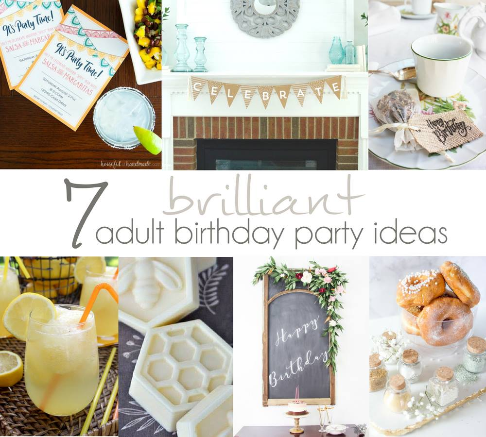 seven brilliant adult birthday party ideas