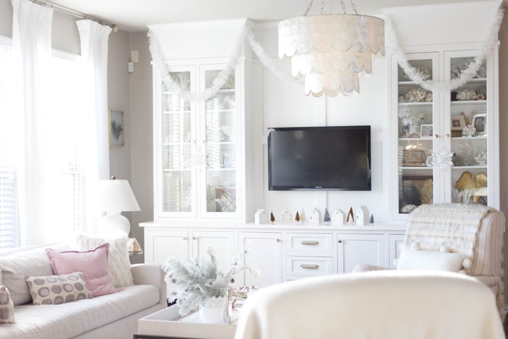 cozy living room decor-bohemain-glam-christmas-home-tour-iris-nacole-living-room-tour