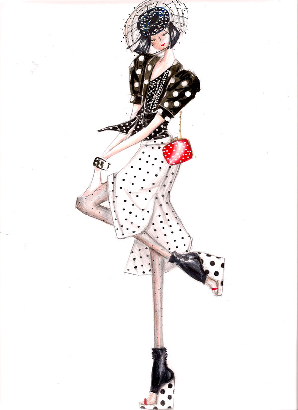 Fashion Illustration Little Thoughts