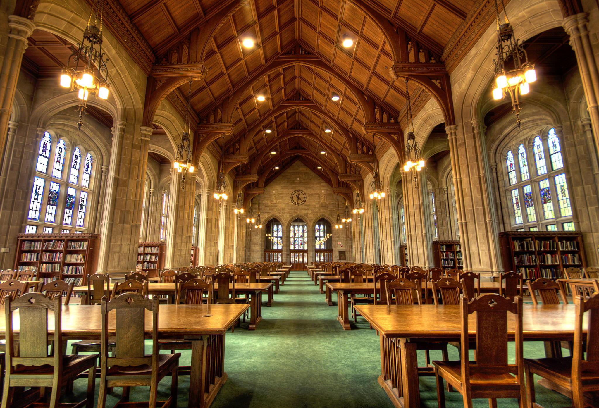 Bapst Library, Boston College, Boston, MA