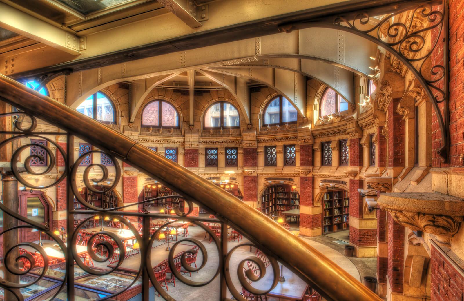 Fisher Fine Arts Library, University of Pennsylvania, Philadelphia, PA