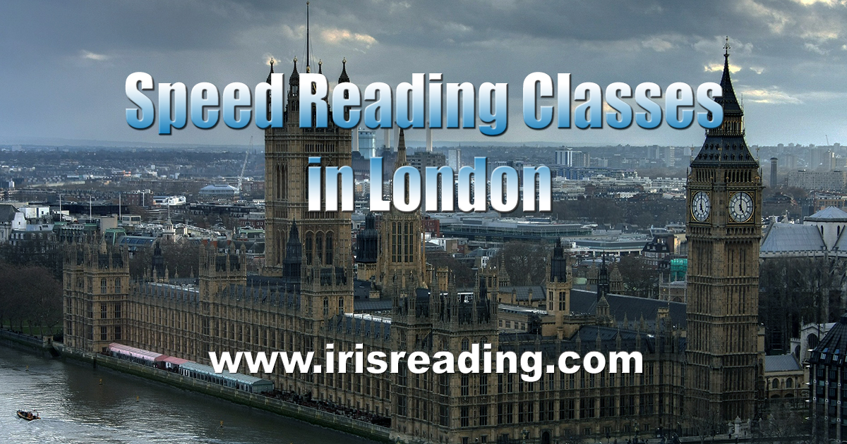 Speed Reading Classes in London