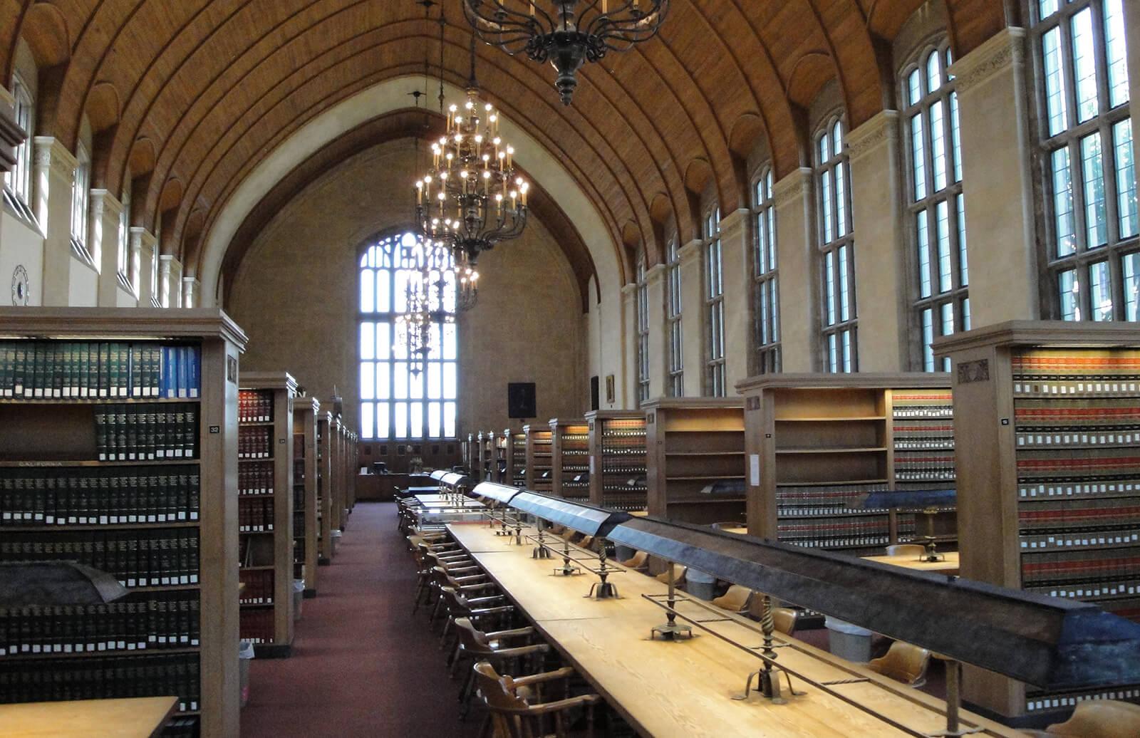 Cornell Law School Library, Ithaca, NY