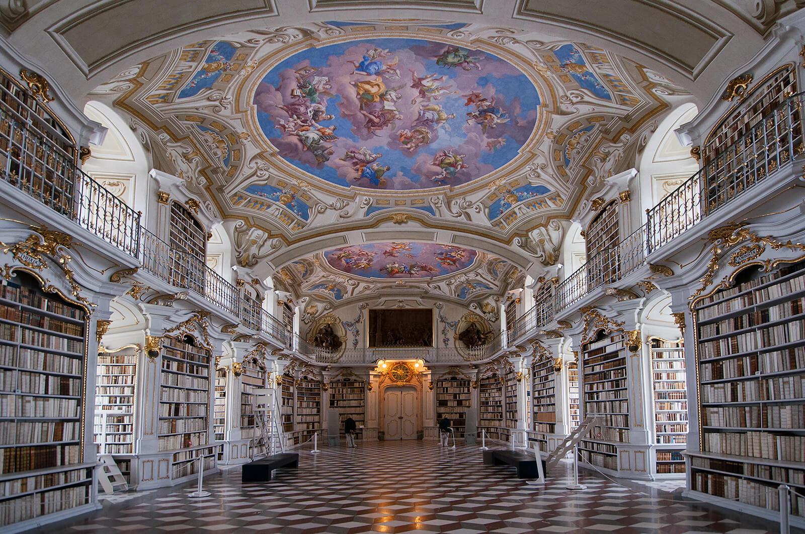 Library of the Benedictine Monastery of Admont, Austria