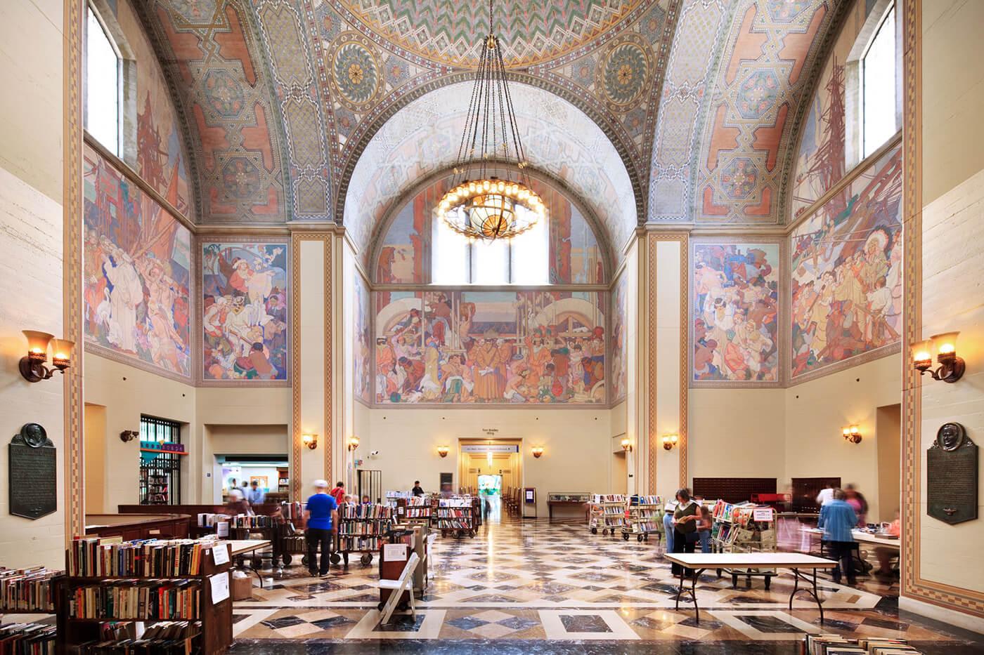 Los Angeles Central Library in Los Angeles, CA