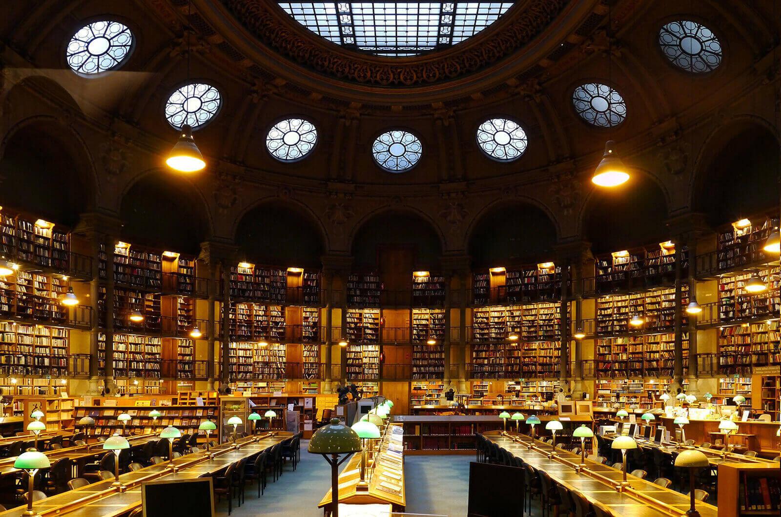 National Library, Site Richelieu, Paris, France