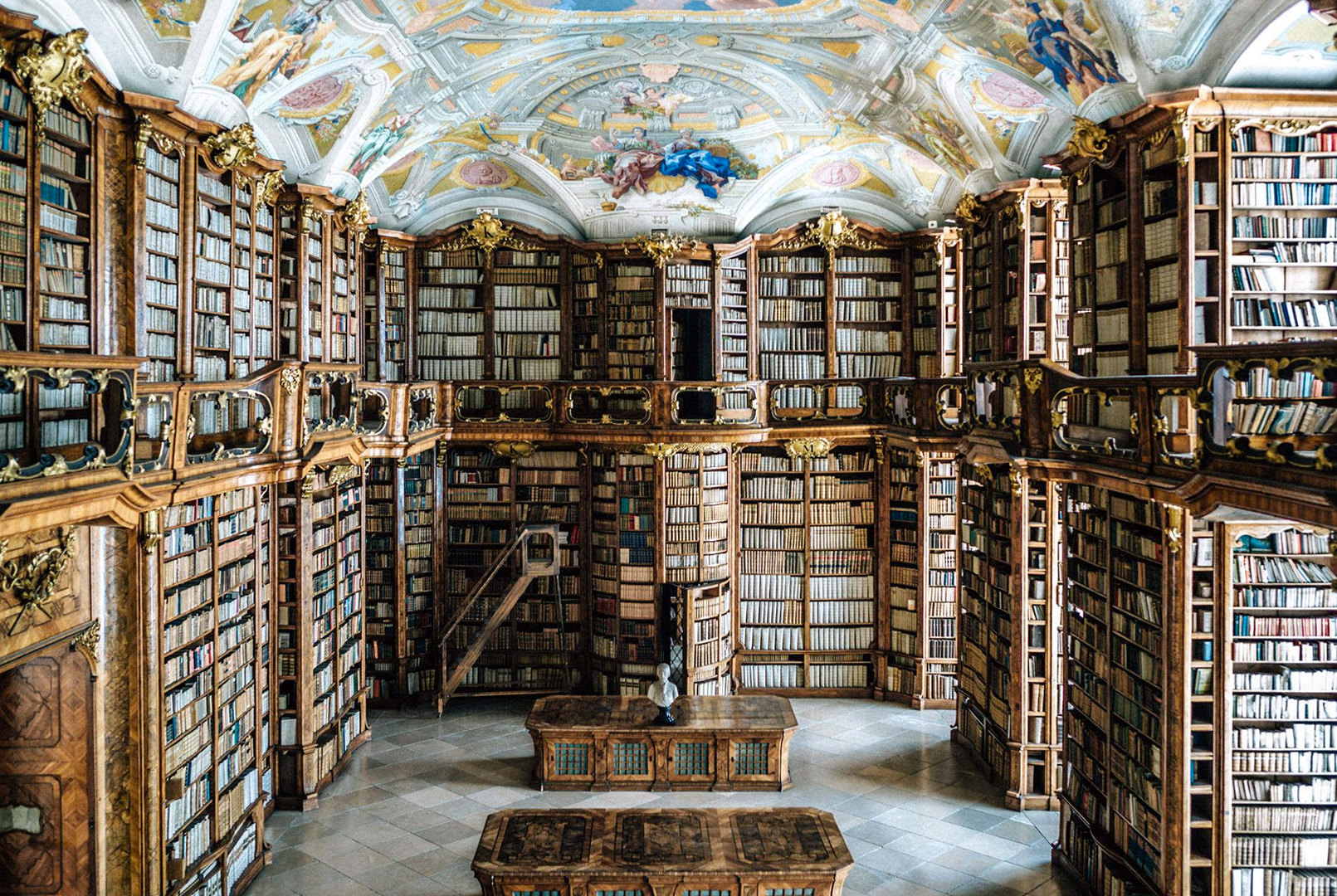 St Florian Abbey Library