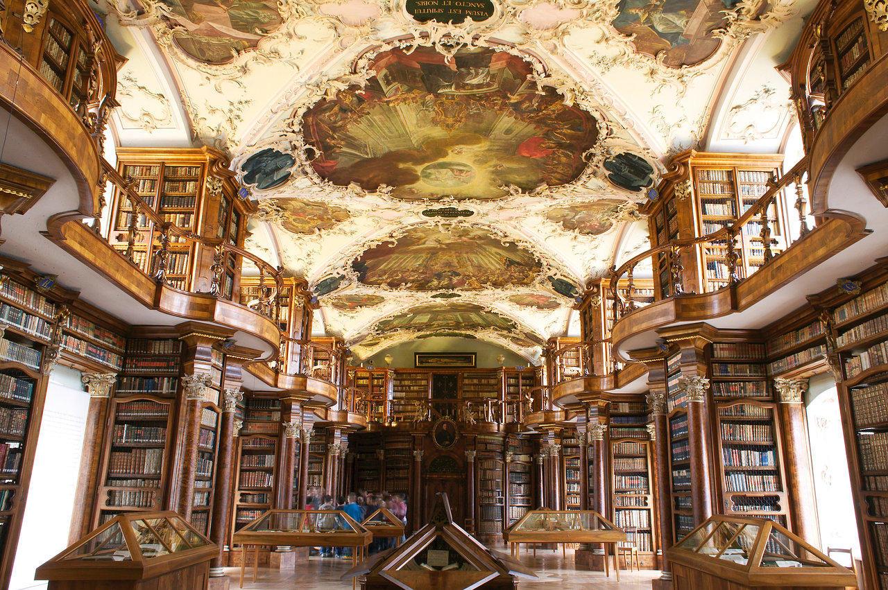 Abbey Library St Gallen Switzerland