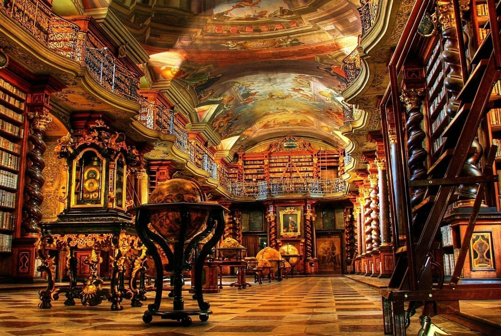 Clementinum National Library Prague Czech Republic