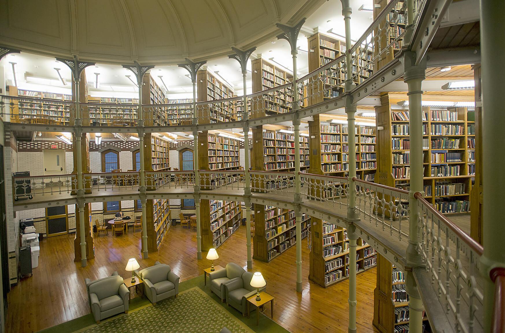 Lehigh University Library, Bethlehem, Pennsylvania